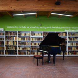piano abierto